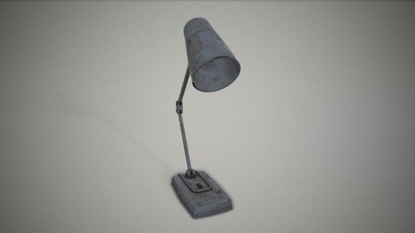 lamp old 3D model