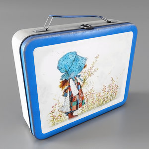 lunch box lunchbox 3D