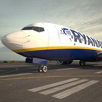 3D model boeing 737