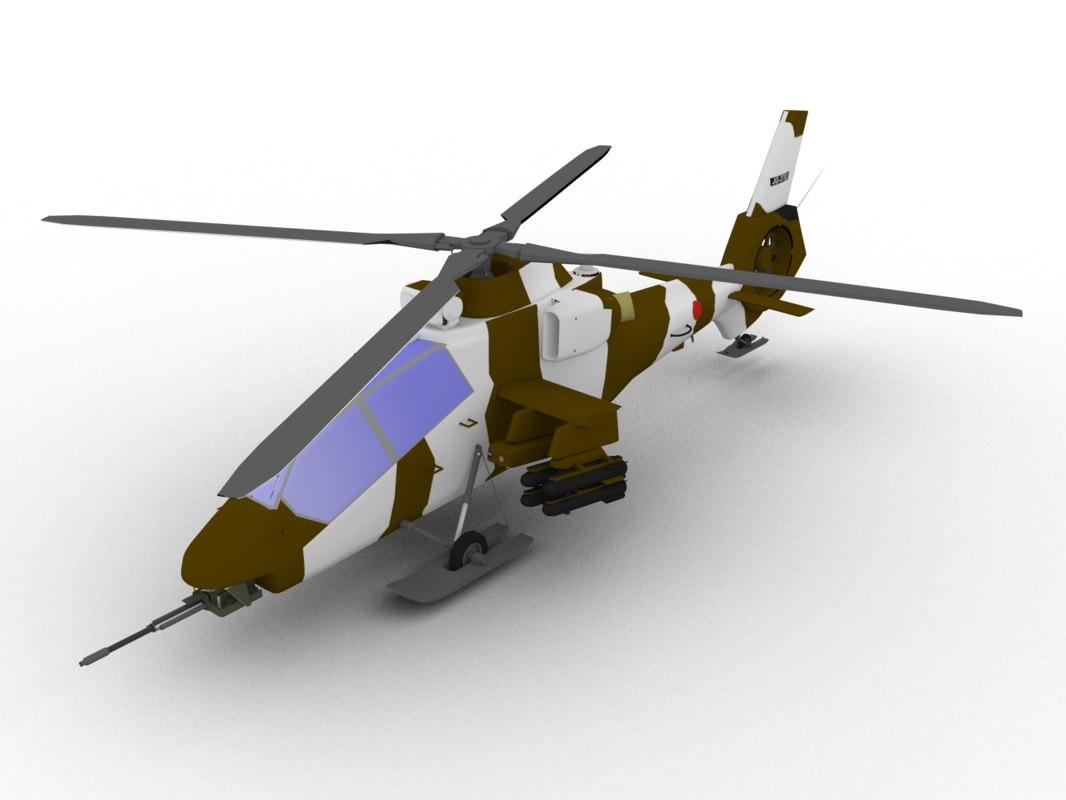 oh-1 kawasaki 3D model