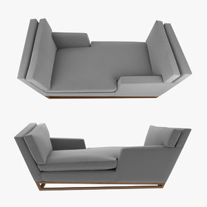 sofa handmade contemporary base 3D