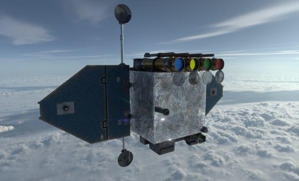 solar dynamics observatory 3D model