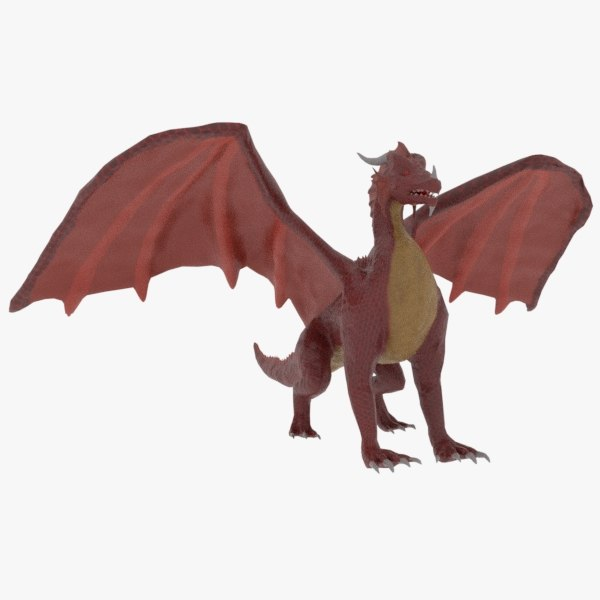 red dragon 3D