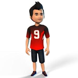 3D boy set g model