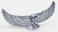 eagle bas relief 3D model