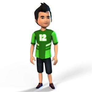 boy set 3D model