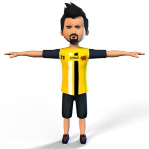 boy set k 3D model
