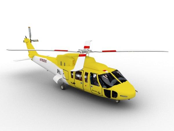 3D s-76 sikorsky