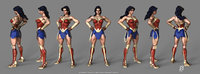 wonder woman toon 3D model