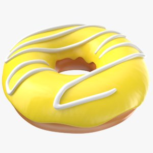 3D donut modeled