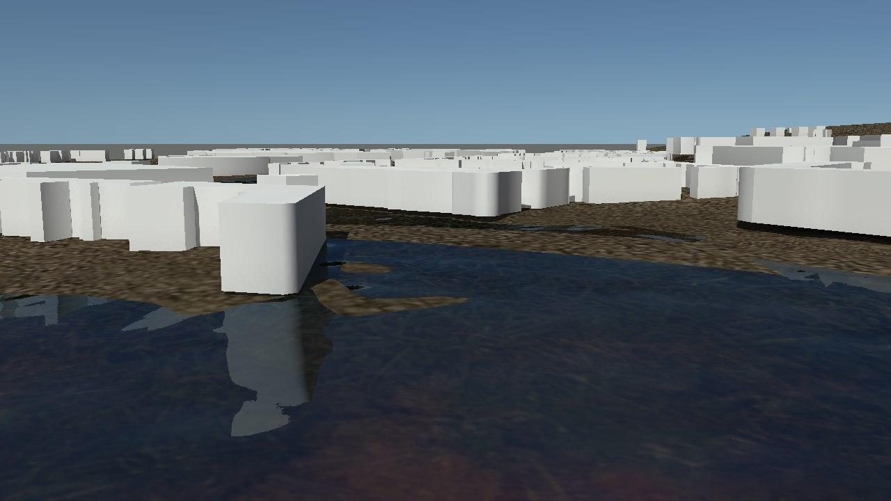 3D model city