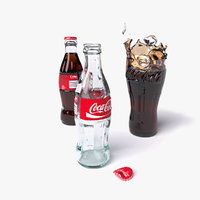 classic cola 3D model