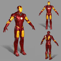 ironman iron man 3D