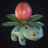 3D ivysaur pokemon
