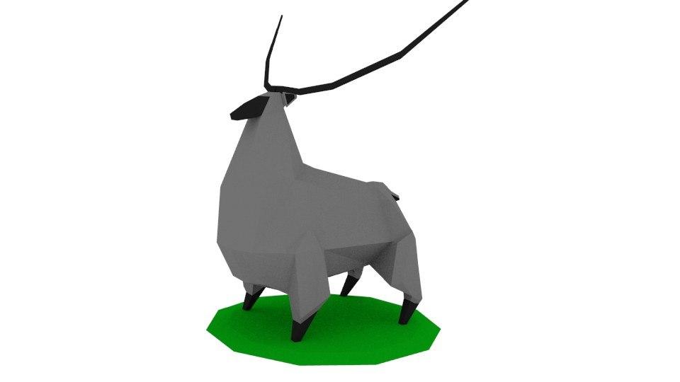 3D deer myth