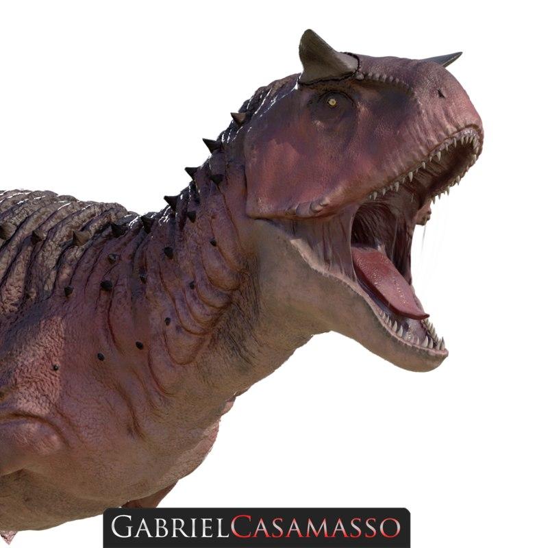 3D carnotaurus sastrei