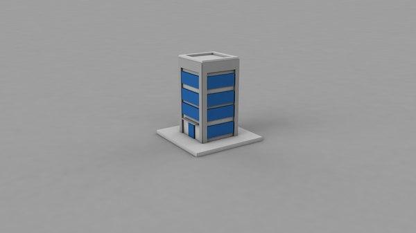 building icon 3D