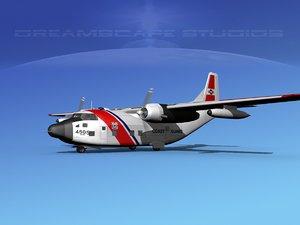 aircraft military hc-123b provider 3D model