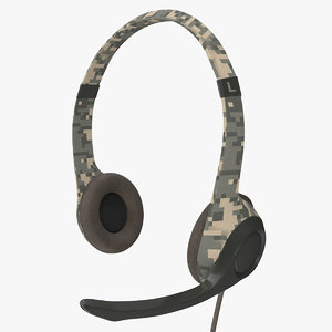 headphones headset 3D