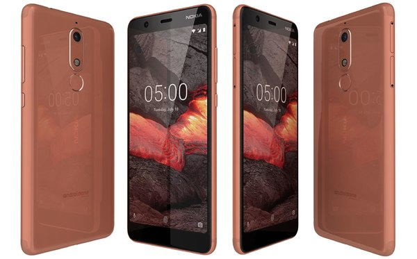 nokia 5 1 copper 3D model
