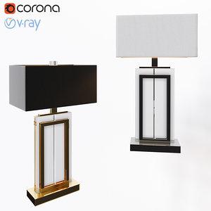 3D table lamp arlington model