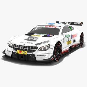 mercedes-amg c63 dtm season 3D model