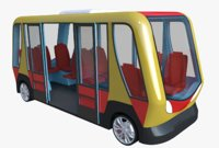3D bus minibus smart