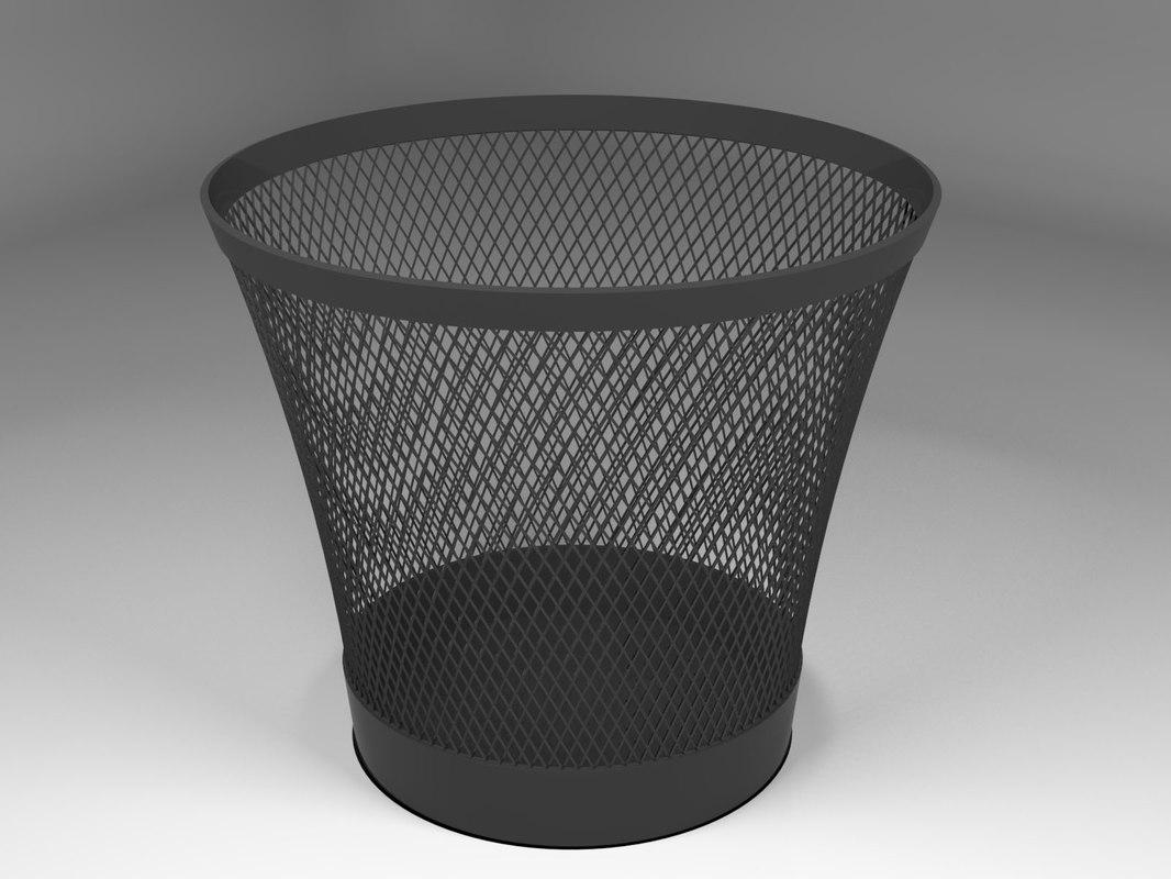 trash office 3D model