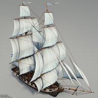 3D model of Brig Phoenix