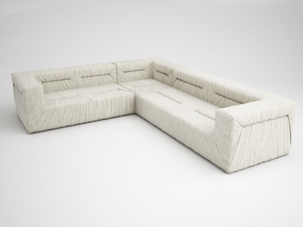 3D lounge hokaido model