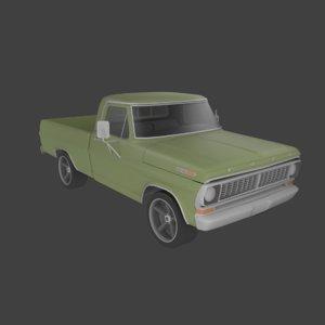 f100 pickup model
