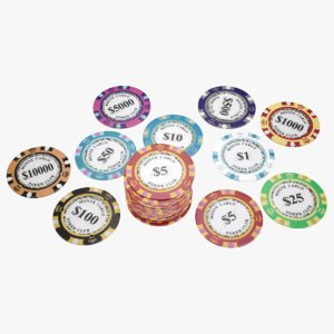 lightwave poker chips model