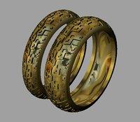 bikers wedding rings