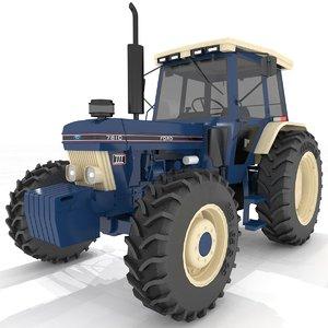 3D model 7810 tractor