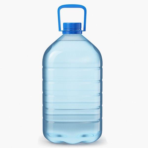 3D water bottle 5l model