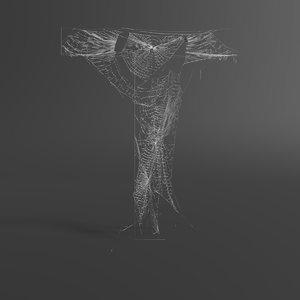 3D web letter t