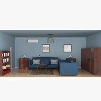 simple room interior model