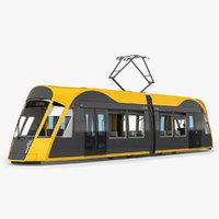 city tram generic 3D model