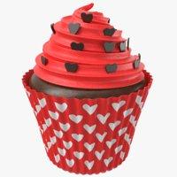 cupcake modeled 3D model