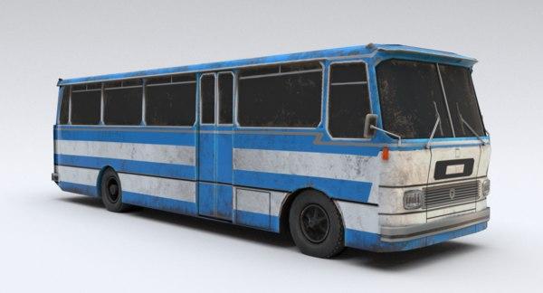 old bus chavdar 3D model