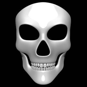 3D skull mask