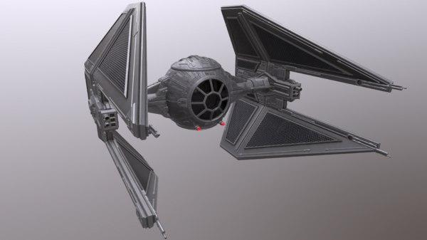 3D tie interceptor