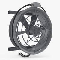 industrial fan cooler 3D