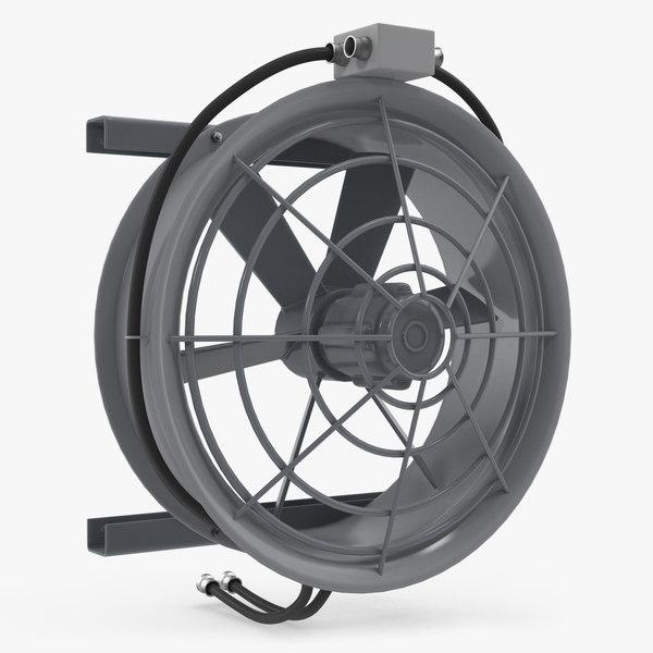industrial fan cooler 3D