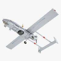 rq-2 pioneer 3D model