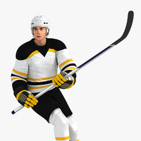 Hockey Player HQ 004