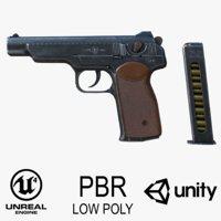 APS Stechkin automatic pistol
