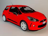 5 family car 3D model