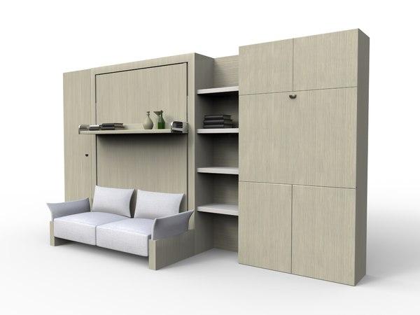smart furniture 3D model