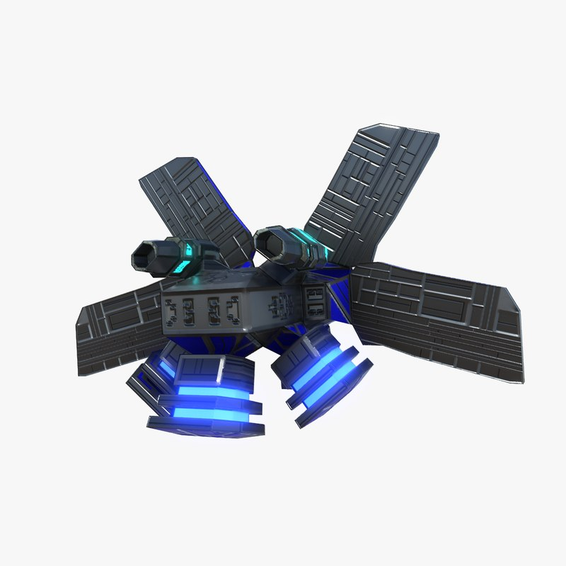 gravity drone 3D model
